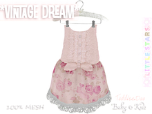 * {.:Little Stars.:} * Vintage Dream - Antique White {non-fitted TD Baby}