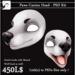 [JD] Paws Canine Head - PSD Kit BOX