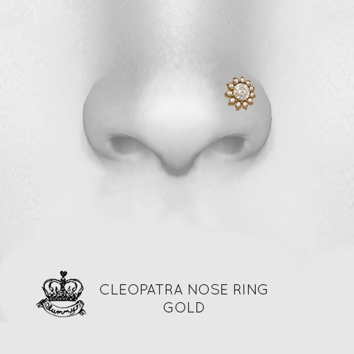 (Yummy) Cleopatra Nose Ring - Gold