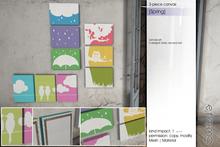 Sway's [Spring] 3-piece canvas