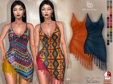 Bens Boutique - Milena Dress - Hud Driven Maitreya,Slink(all),Belleza(all)