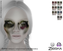 Zibska [50L Closeout] ~ Andra Makeup in 7 colors with Lelutka Bento applier, Omega applier and system tattoo layers