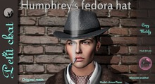 *PC* Humphrey's fedora hat PROMO PRICE 50% OFF