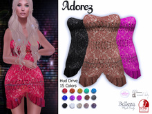 AdoreZ-Sirley Dress Hud Colors