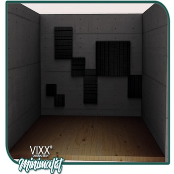 -VIXX- Mesh backdrop - Minimalist