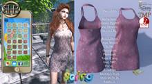 !!BHB!! Spring fling dress with hud (slink, belleza, TMP, maitreya, classic, ebony, Tonic fitmesh)