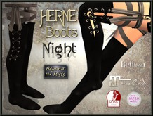 ** Herne Boots Night ** (Belleza Venus TMP Maitreya Slink PH/HR)