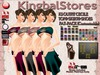 KS OUTFIT CECILE TOP&SKIRT&SHOES FAT-PACK (Customizable)