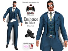 GQ - Eminence in Blue - by 69 Park Ave