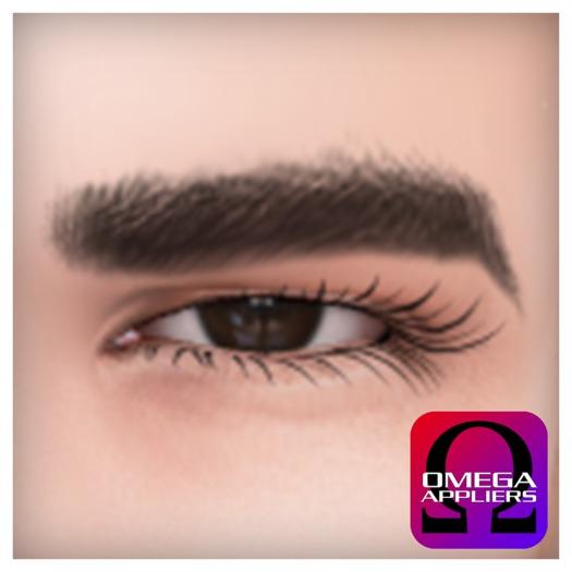 [Bay Harbor] Matt Eyebrows (Omega) - SEPERATE FROM SKIN