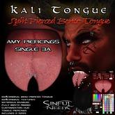 Kali Split Bento Tongue with Amy Piercing Single 3a