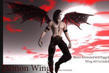 Demon Wings - ( Bento Animated )