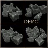 Rock Pile. Mesh. Demo