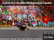 [satus Inc] Graffiti Background Studio