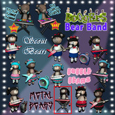 <:*BoOgErS*:> Metal Bear Keyboard
