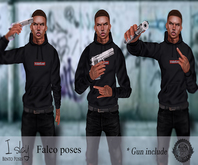 I-Slay falco bento poses
