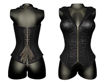 DE Designs - Isis Corset - Black