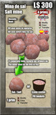 *Caja/Box* - Mina de Sal / Salt mine [G&S]