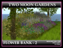 FLOWER BANK 2* Large, sloping flower bank