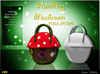 -Lamu Fashion-HandBag Mushroom Mesh FULL PERM