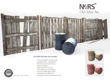 N4RS Old Alley Set - PG Boxed