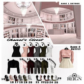 REIGN.- Chanel No2 Fur Coat (Maitreya) OLIVE- #13