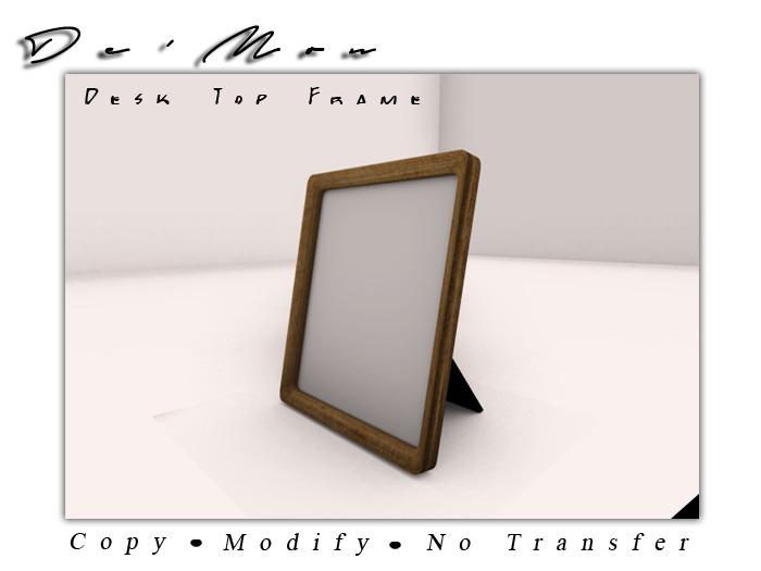 .::De'Mon::. Memories Photo Frame **GIFT**