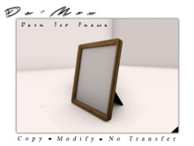.::De'Mon::. Memories Photo Frame **GIFT**