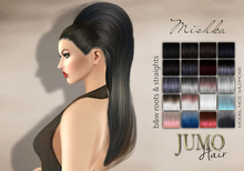 .:JUMO:. Mishka Hair Black & Whites