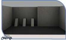 -VIXX- Mesh backdrop - Concrete
