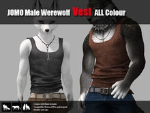 JOMO Male Werewolf Vest ALL Colour