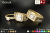 (BENTO)~~ Ysoral ~~  .: Set Luxe 3 Rings Wedding Eternel:.
