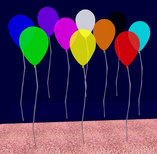 Colored Balloons (modify/copy)