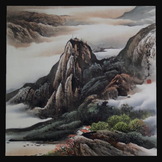 Chinese Picture - Mountain
