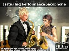 [satus Inc] Performance Saxophone