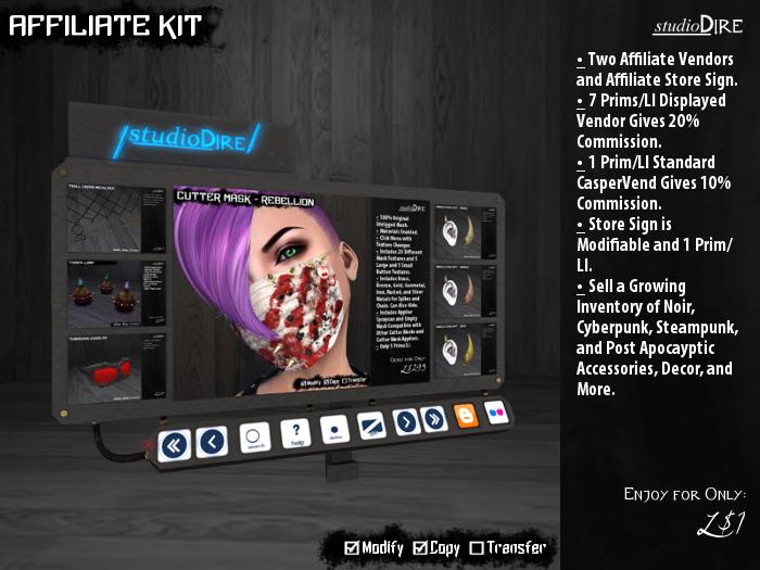 /studioDire/ Affiliate Kit