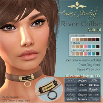 Amacci - River Collar (Natural)