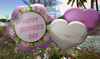 Cj happy mother day clover basket with sweets   balloons 06