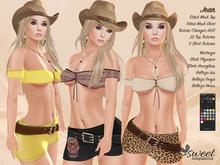 Sweet Temptations :: Jean Outfit - Maitreya Slink (P, H), Belleza Venus, Isis, Freya - 22 Textu