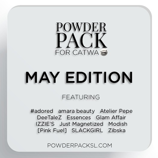 Powder Pack for Catwa May Edition