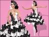 Boudoir - Checkmate Dress