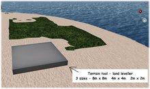 terraform tool - terrain tool - land leveller - boxed