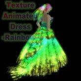 Wunderlich's Texture Animated Dress - Rainbow