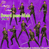*CC* Sword pose-Male