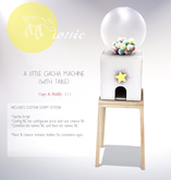 ionic : A little Gacha Machine (With Table)