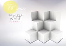 ionic : Display Stand [White]