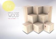 ionic :  Display Stand [Wood]