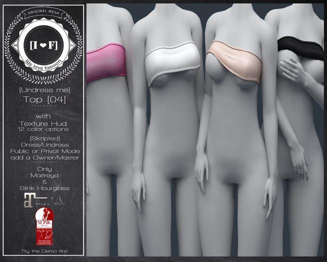 [I<3F] - Top [04] - [undress me!]
