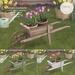 {what next} Springtime Tulips Wheelbarrow
