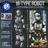 ER M-Type Robot Avatar
